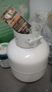 Propane tank for BBQ - never opened