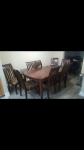 Need gone asap. Dinner table with chairs
