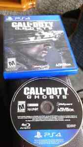 Call of Duty Ghosts PS4 game Kitchener / Waterloo Kitchener Area image 1
