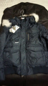 Brand New Mens Pajar ZACK Winter Jacket - Navy Blue - Size Small