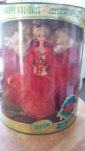 1992 & 1994 Holiday Barbies - Unopened in original boxes