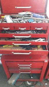 Tools (Variety) and Tool Cabinet/Chest