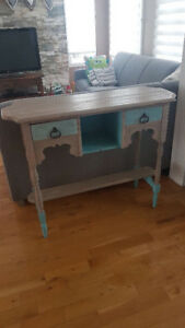 Buffet, desserte, table console, bar, ilot - relooké chalk paint