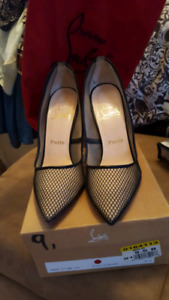Authentic Christian Louboutin heels size 9.5