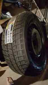 Never Been Used Blizzack Tires & Rims Kitchener / Waterloo Kitchener Area image 1