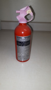 small fire extinguisher