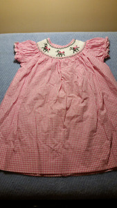 Todder Dresses,Pink Gingham Smocked,Marmellata,Jillian's Closet