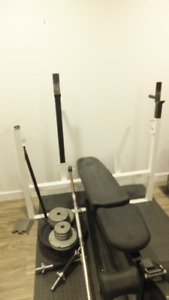 bench press de qualité