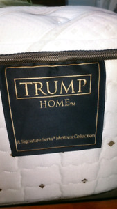 Trump home series sealy king mattress.
