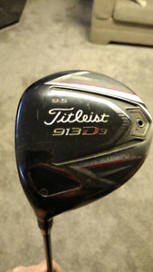 Lefthanded Titleist 913d Driver