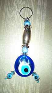 Large Lucky Eye Keychain - for sale ! Kitchener / Waterloo Kitchener Area image 1