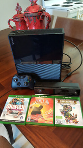 Xbox One w/Kinect + 6 games Assassin's Creed