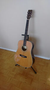 Left Handed Acoustic/Electric Guitar