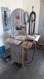 commercial Meat Saw and Meat Slicer