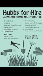 Yard Cleanups/Grass Cutting