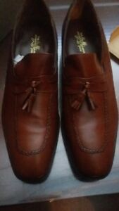 VTG JOHNSTON & MURPHY shoes MINT with Box!