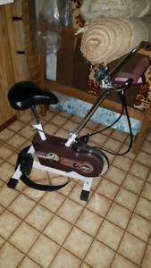 "Stationary Bike from ""The Body Shop"""