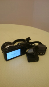 Sony nex 5r with FDA-EVIS viewfinder