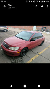 800$ lancer as is