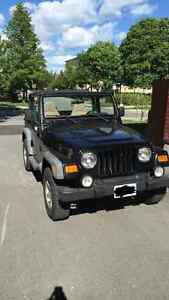 2002 Jeep TJ 4×4 (Hard top and Soft Top)