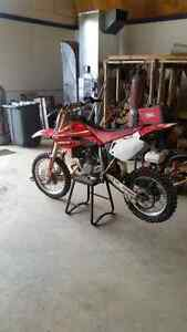 Cr85 Honda 2 stroke with new motor and tires and more