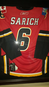 Autographed Sarich Jersey