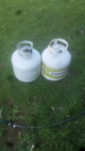 3 empty brand new 20lb propane tanks $10 each or 3 for $25