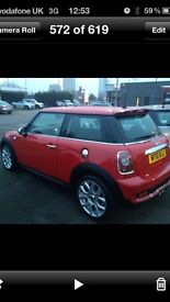 Mini Cooper 1.6 Cooper Sport Red and Chrome Chilli pack 2010