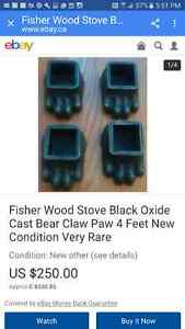 Exc condition wood stove