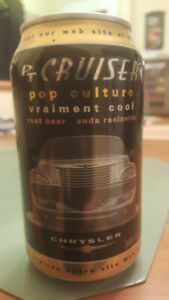 Cannette de Root Beer, PT Cruiser (POP CULTURE)
