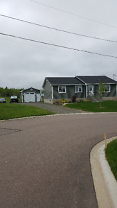 3 yr old 4 bedroom bungalo in very quiet area of Riverview, NB