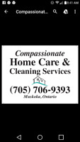 Home Care & Cleaning Services Fully licensed / insured. PSW/SSW