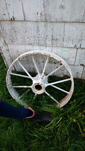 Vintage antique wheel