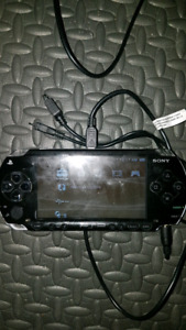 Psp system with a few games