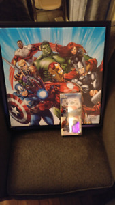 Avengers Picture and Stickers