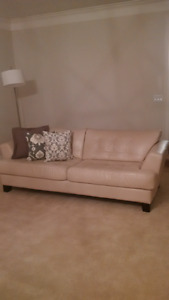 Genuine Leather Couch/Sofa's/Big Chair & Ottoman Set