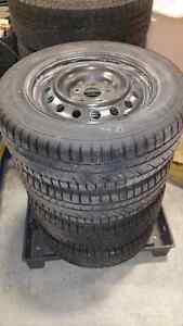 Snow tires and wheels for Toyota Camry