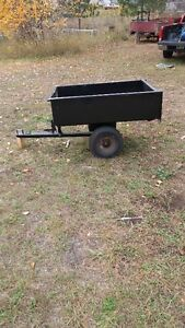 48 inches x 32 inches utility trailer