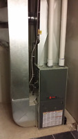 Replace your old furnace with a new HIGH EFFICIENT TRANE FURNACE