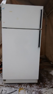 White Refrigerator for sale $80.00