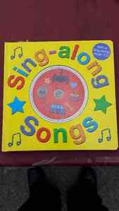 Sing Along Songs book and CD - NEW! Peterborough Peterborough Area image 1