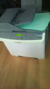 Lexmark Color Toner Printer Model X544