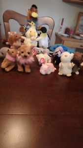 Animals, Scooby Doo and the gang, Webkinz animals