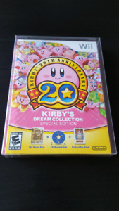 Nintendo Kirby Dream Collection Wii Sealed