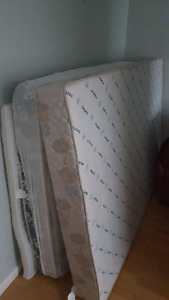 Double Boxspring w/ Mattress and Frame