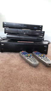Bell satellite PVR and HD box