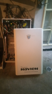 Navien gas water heater for parts