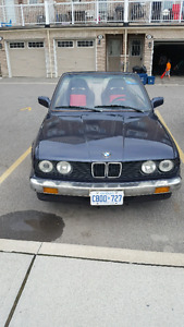 1988 bmw 325i cabrio 5speed