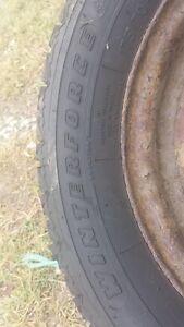 4 pneus d'hiver 175 70 13