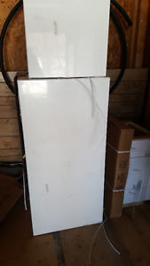 white upright cabinet ( pantry )